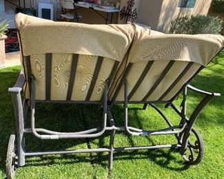 Mallin Patio Double Lounge Chair