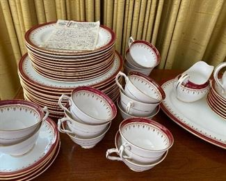 Large set of china.