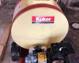 Kuker mounted sprayer