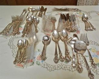 Sterling Flatware, Reed & Barton, 92 Pieces