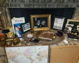 Brass & Texas Items
