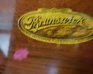 "Brunswick ""Ultona"" Solid Wood Case Victrola (Works)"
