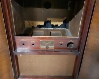 Capehart Vintage Console Cabinet (No TV Cabinet Only) Repurpose Bar Etc.