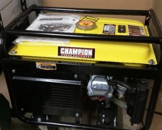 3500W power generator.  Starts up easy and runs great.  Never used for any length of time.