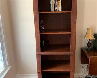 2 tall cabinets/Shelves