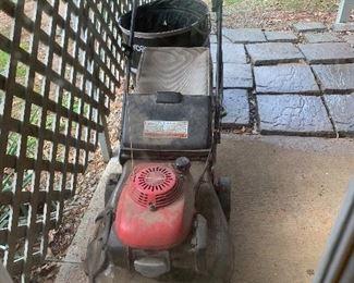 Lawn mower -works