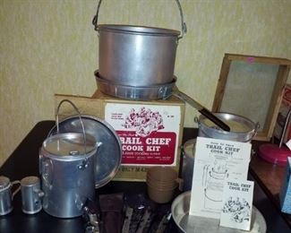 Trail chef cook set, like new