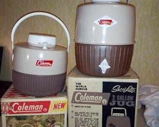 Vintage Coleman coolers