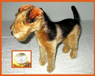 Steiff Dog in Excellent Condition