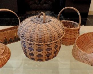 HANDMADE AND INDIAN BASKETS