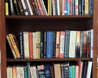 COOKBOOKS AND BOOKS