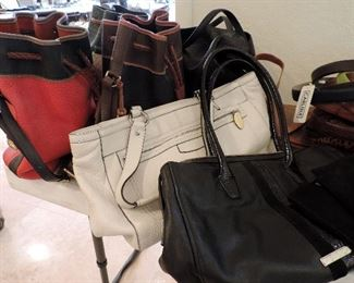 DESIGNER PURSES: COACH, DOONEY & BURKE, COLE HAAN, MARK CROSS (ITALY)  & MORE