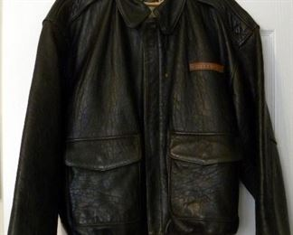 LEATHER BOMBER JACKET, JACK OF ALL RAIDS