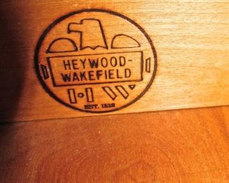MARKING ON WAKEFIELD PIECES