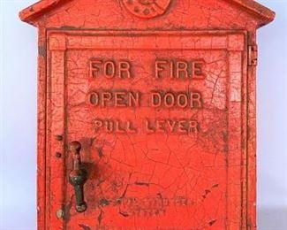 Red Fire Alarm Box https://ctbids.com/#!/description/share/331462