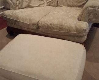beige love sofa