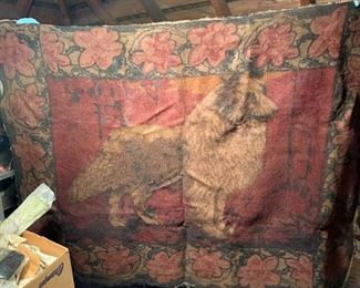 Carriage blanket/throw