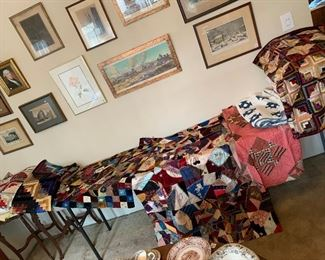 Victorian crazy quilts and more