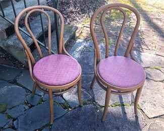 5. Pair of Bentwood Chairs