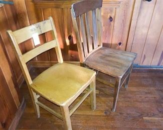 31. Two 2 Side Chairs