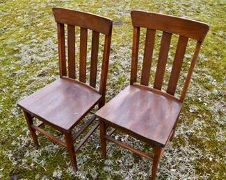 64. Pair of Side Chairs