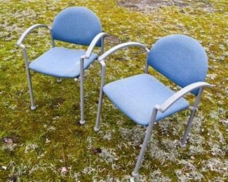 65. Pair of Bola Armchairs