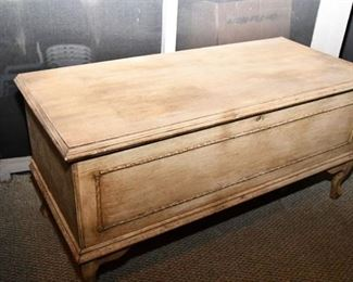 74. Smoky Mountain Line Blanket Chest