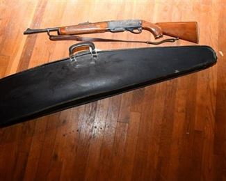 89. Remington 3006 Rifle and Case