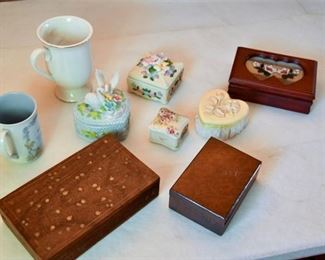 95. Trinket Boxes and Mugs