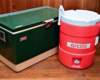 101. Arctic and Coleman Coolers