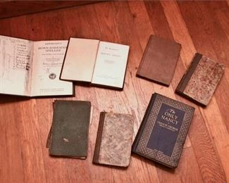 114. Seven Vintage Books with Signatures