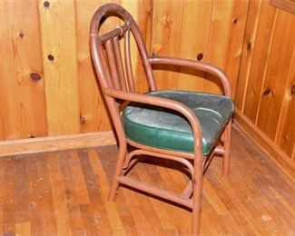 120. Bentwood Chair with Leather Seat