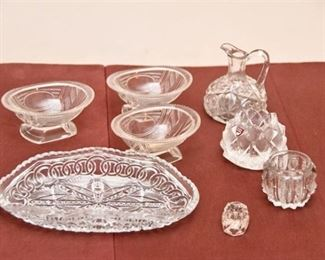 125. Cut Glass and Crystal Including Orrefors