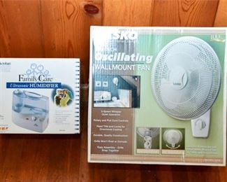 137. New Fan and Humidifier