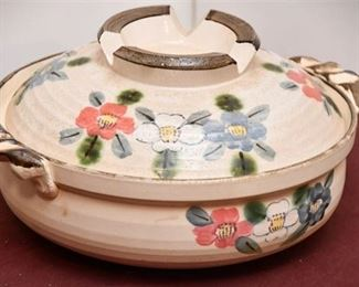 146. Hand Painted Japanese Soup Bowl