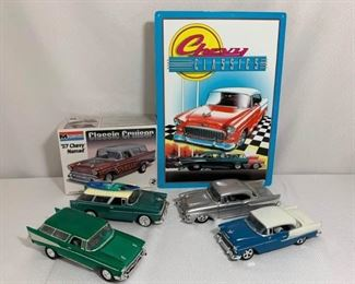 Chevrolet Bel Air and Nomad Model Cars