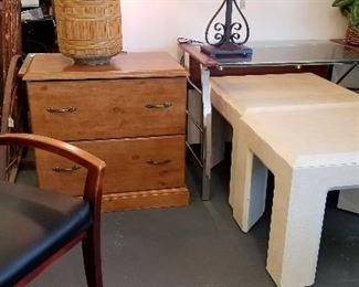 Beautiful wood file cabinet
