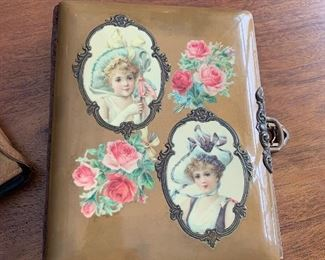 Full 1800's great for age condition photo album.