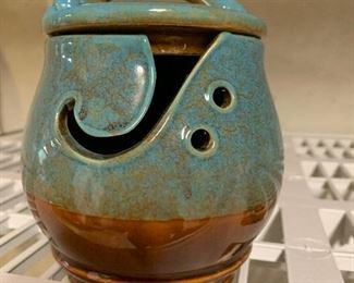 Darn Great Yarn pottery bowl