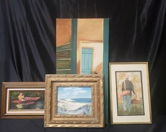 4 Art Pieces