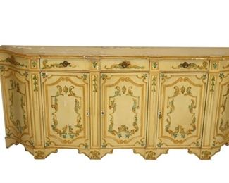 Italian Decorated Sideboard