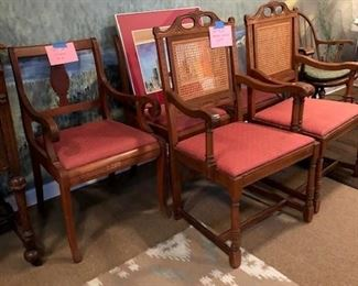 Side Chairs, Rug