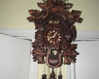 Large German cuckoo clock
