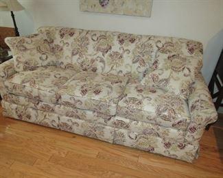 Clean modern sofa