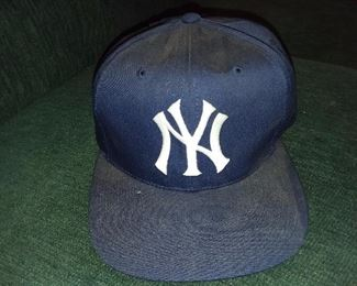 NY Yankees Phil Rizzuto Autographed Baseball Hat
