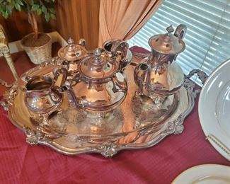 Reed & Barton SilverPlate Tea Set