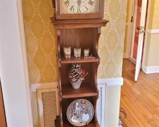 Vintage Foyer Shelf Clock. Unique