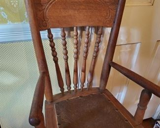 1900s  antique childs chair