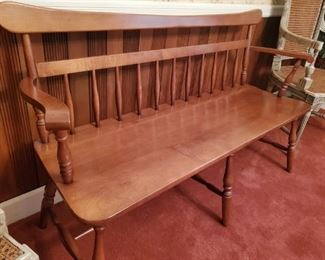 Modern.  Courting bench.  Great condition