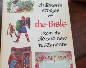 Vintage childs books